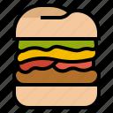 burger, fast, food, hamburger, junk
