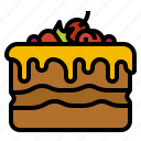 bake, bakery, birthday, cake, party icon