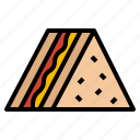 bread, food, meal, sandwich icon