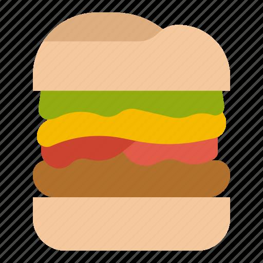 Burger, fast, food, hamburger, junk icon - Download on Iconfinder