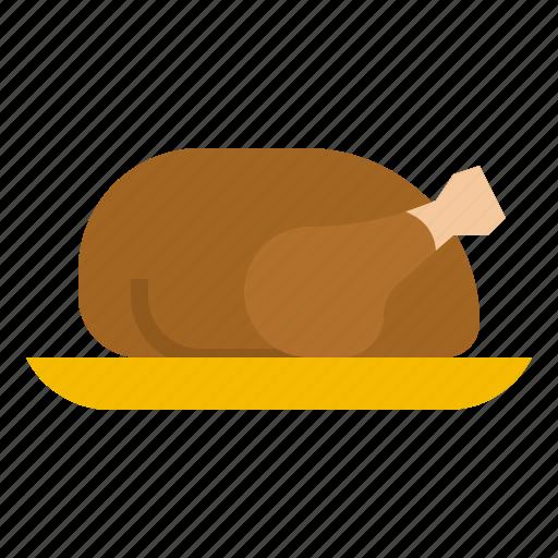 Chicken, food, meat, roast, turkey icon - Download on Iconfinder