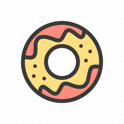 beverage, cake, cookies, donuts, drink, food icon