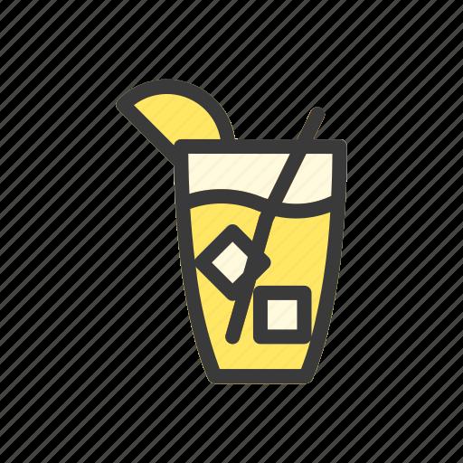 beverage, drink, food, ice tea, ices, lemon tea, tea icon