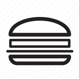 delivery, fast, food, hamburger, junk, order icon