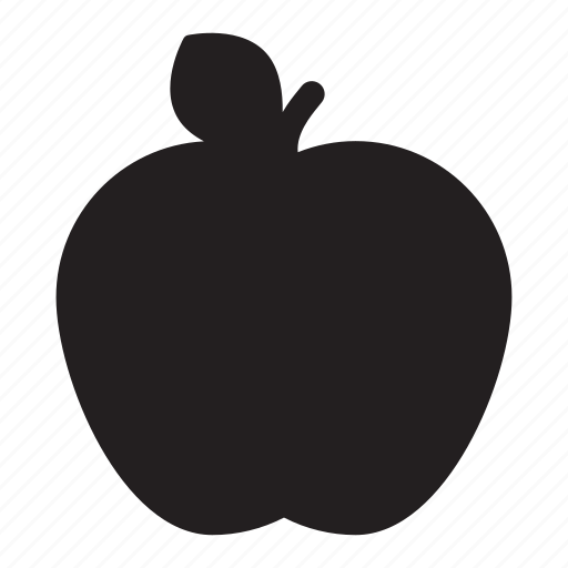 apple, food, healthy, lunch, refreshing, snack icon