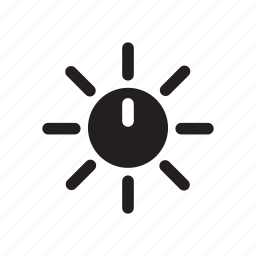 clock, food, sun, time, warm icon