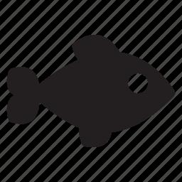 fish, fishing, food, ocean, sea, swim icon