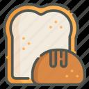bread, toast, bakery, pastry