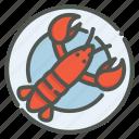 lobster, seafood, shrimp, restaurant