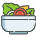 salad, vegetable, vegetarian, vegan