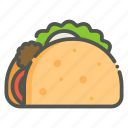 taco, mexican food, mexico, food