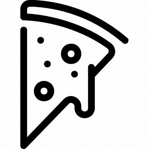 cheese, food, italy, pizza, slice icon
