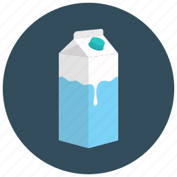 beverages, carton, healthy, juice, milk icon