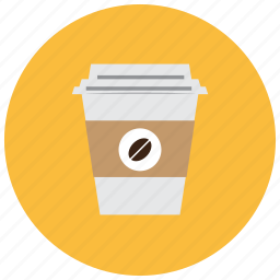 bean, beverages, buy, cafe, coffee, container icon