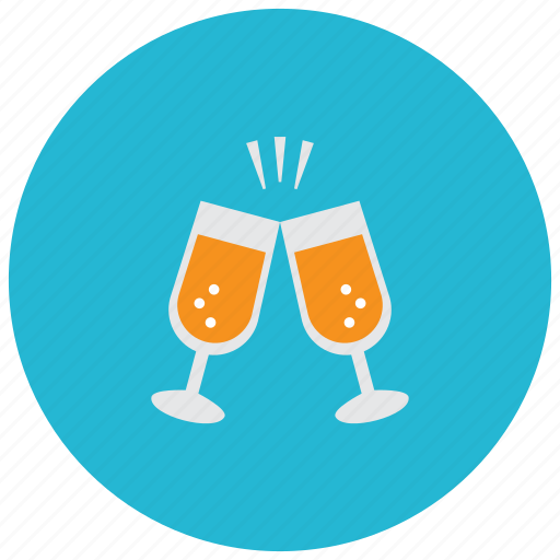 beverages, celebrate, drinks, glasses, toast icon