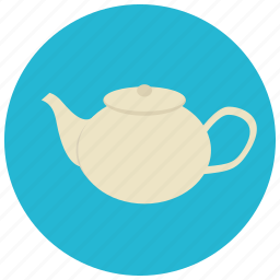 beverages, drink, kettle, tea, water icon