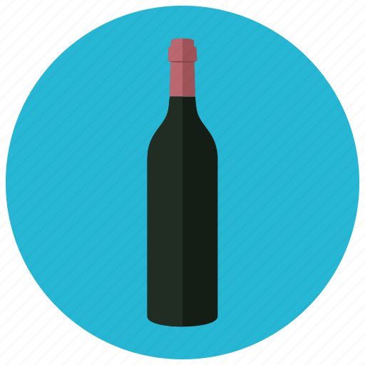 beverages, bottle, celebrate, closed, drink, wine icon