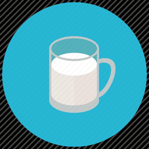 beverages, cup, drink, healthy, milk icon