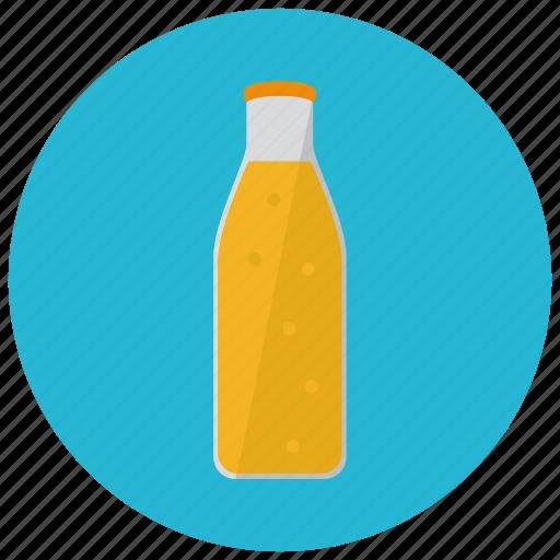 beverages, bottle, fruit, healthy, juice, orange icon