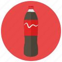 beverages, bottle, large, refreshing, soda icon