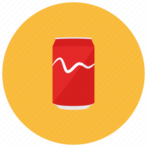 beverages, can, refreshing, soda, tin icon