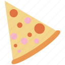 food, italian, pizza, slice icon icon