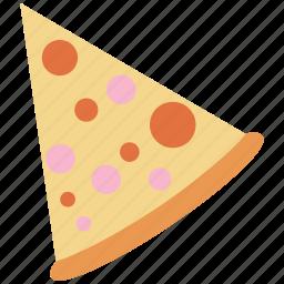 food, italian, pizza, slice icon icon