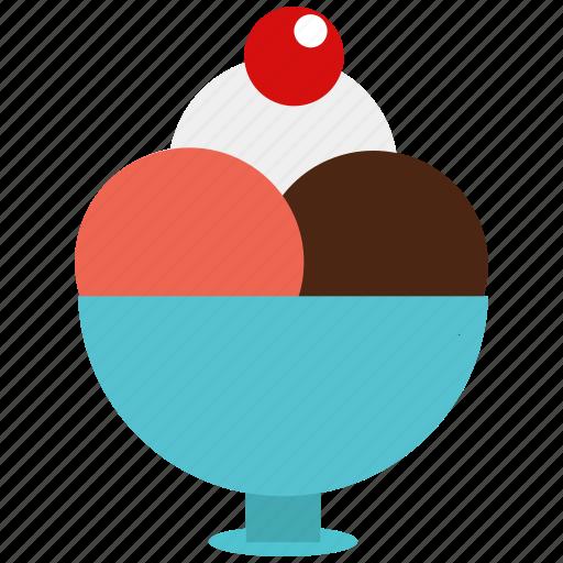 dessert, food, frozen dessert, frozen yogurt, icecr icon