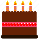 birthday, cake icon icon