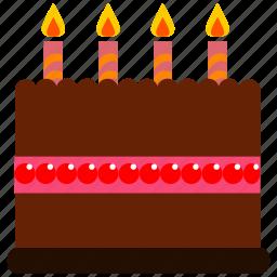 birthday, cake icon icon