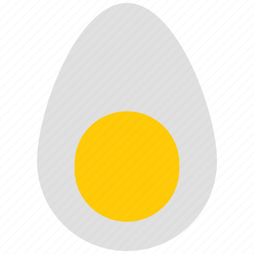egg, egg shell, food icon icon