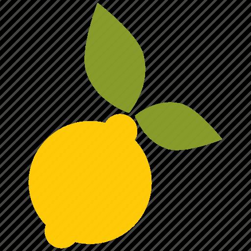 citrus, drink, lemon, slice icon icon