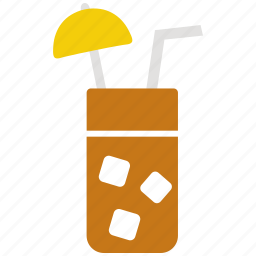 alcohol, cocktail, coconut, drink icon icon