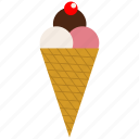 cream, frozen, frozen yogurt, ice, ice cream icon icon
