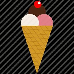 cream, frozen, frozen yogurt, ice, ice cream icon icon