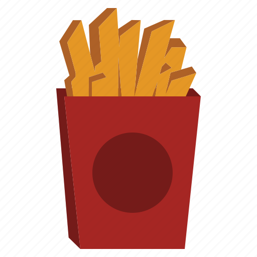 fastfood, food, french, fries, junkfood icon