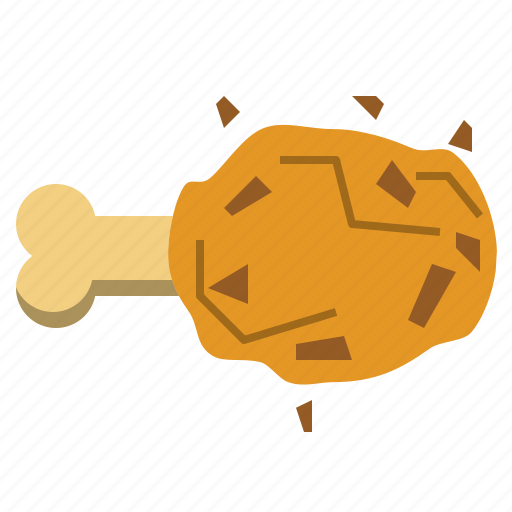 chicken, fastfood, food, fried icon