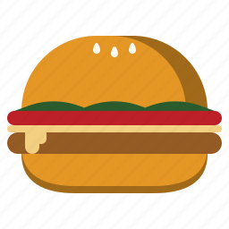 burger, diet, fastfood, junkfood, meal, obesity icon