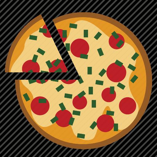 food, italian, meal, pizza icon