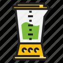 blender, color, drink, food, kitchen utensil, outline icon