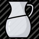 container, jug, kitchen utensil, pitcher, water jar, water jug icon