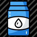 container, jam jar, kitchen utensil, milk container, oil jar, water bottle icon