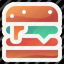 burger, cheeseburger, drink, fastfood, food