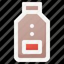 bottle, drink, food, milk, sweet icon