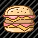 beverage, burger, fast food, food, hamburger