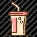 beverage, cold, cup, drink, food, tea icon