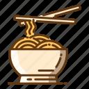 beverage, fast food, food, noodles icon