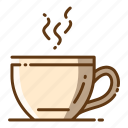 beverage, coffee, cup, food, hot drink icon