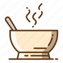 beverage, food, healthy, kitchen, soup icon