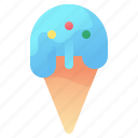 cone, cream, drink, food, ice, sweet icon